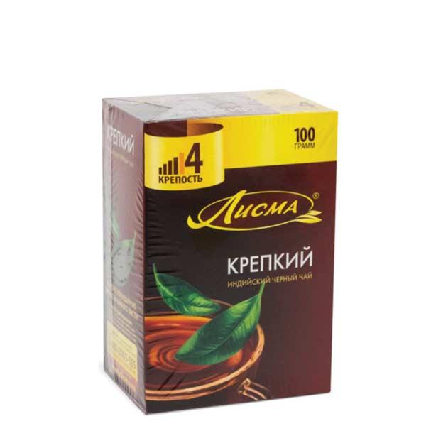Лисма чай 100 пакетиков