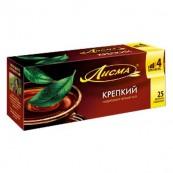Чай черный Лисма «Крепкий» 25пак.