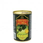 Оливки зеленые Maestro de Oliva с косточкой 300гр.