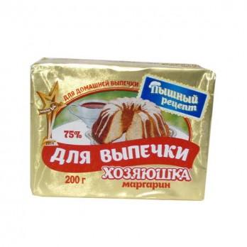 Маргарин для выпечки Хозяюшка сливочный 65% 200гр.