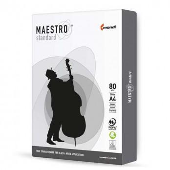 Бумага Maestro Standard белая A4 500л.