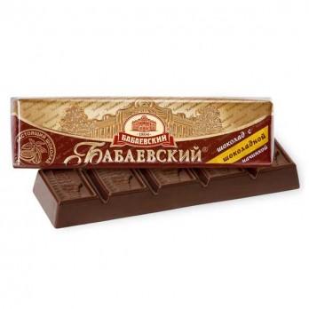 Батончик Бабаевский с шоколадной начинкой 50гр.