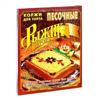 Коржи для торта Рыжик «Черока» ванильные 400гр.