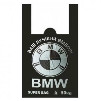 Пакет майка «BMW» 43*70см.
