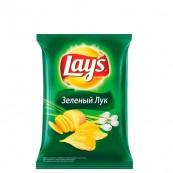 Чипсы Lays зеленый лук 80гр.