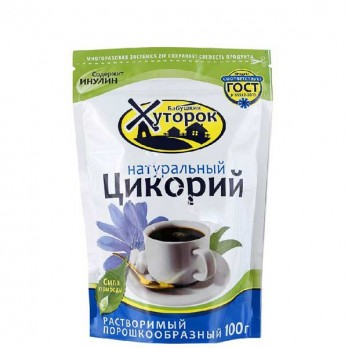 Цикорий Бабушкин хуторок натуральный растворимый 100гр.