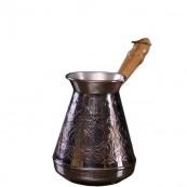 Турка для кофе медная «Цветок» 200 мл.