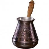 Турка для кофе медная «Петр Первый» 400 мл.