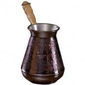 Турка для кофе медная «Виноград» 500 мл.