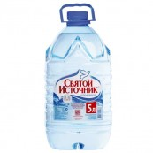 Вода питьевая Святой Источник н/газ 5л.