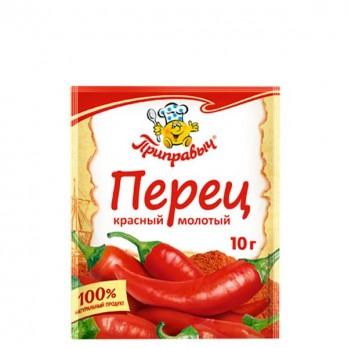 Перец Приправыч красный молотый 10гр.