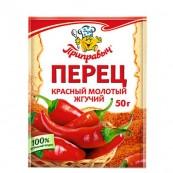 Перец Приправыч красный молотый 50гр.