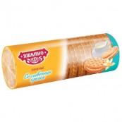 Печенье Яшкино затяжное с кремом 182гр.