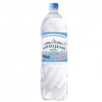 Вода питьевая Липецкий Бювет негазированная  1,5л.