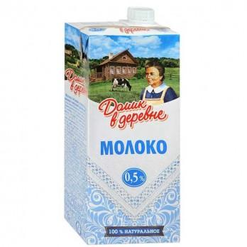 Молоко «Домик в деревне» 0,5% 1л.