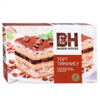 Торт Baker House Тирамису бисквитный 350гр.