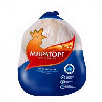 Тушка цыпленка Мираторг замороженная 1 кг.