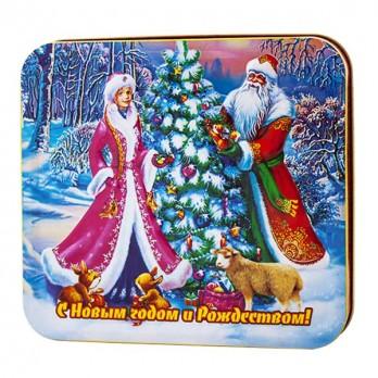Чай Дольче Вита «Дед Мороз со Снегурочкой» 100гр.