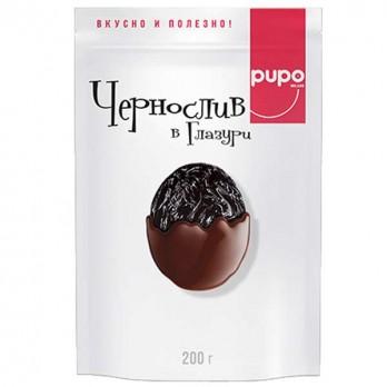 Конфеты Pupo Чернослив в глазури 200гр.