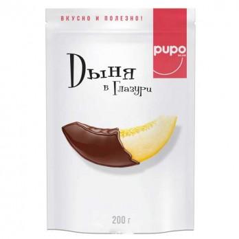 Конфеты Pupo Дыня в глазури 200гр.