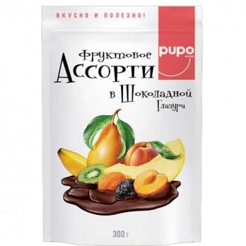 Конфеты PUPO Ассорти в глазури 300гр.
