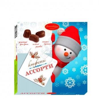 Набор конфет Волшебница ассорти Снеговик 140гр.