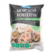 Ассорти из морепродуктов Арктида сыро-мороженое 1 кг.