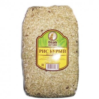 Рис Кубань-Матушка бурый 800 гр.