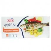 Рыба Vici «Форель» потрошеная замороженная 500гр.