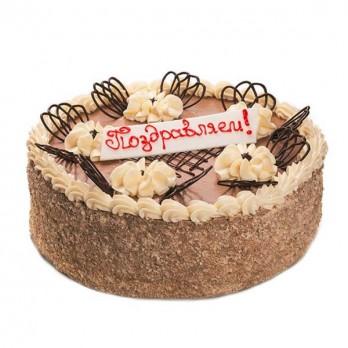 ПОД ЗАКАЗ! Торт «Крещатик» 1 кг.