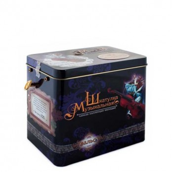 Чай-музыкальная шкатулка Chelton «Вальс» 100гр.