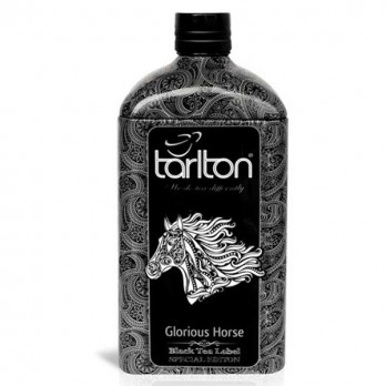 Чай Tarlton «Славный Жеребец» черный 150гр.