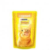 Корм для кошек Friskies с курицей 85 гр.