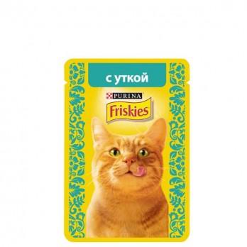 Корм для кошек Friskies с уткой 85 гр.