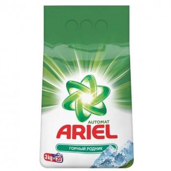Стиральный порошок ARIEL автомат «Горный родник»  3кг.