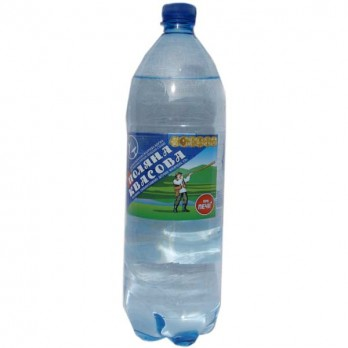 Вода минеральная Поляна Квасова газированная лечебная 1,5л.