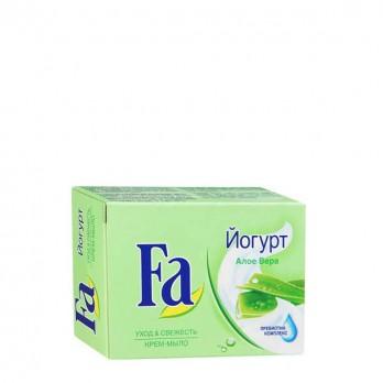 Кусковое мыло FA Йогурт Алоэ вера 90 гр.