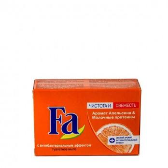 Кусковое мыло FA  «Апельсин и молочные протеины» 90 гр.