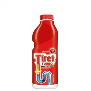 Гель Tiret Турбо для устранения засоров 500мл.