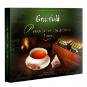 Набор чая Greenfield в пирамидках «Ассорти» 60 пак.