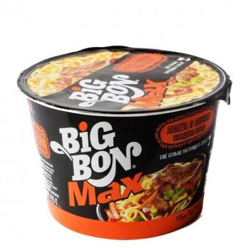 Лапша б/приготовления Big Bon Max «Говядина с соусом» 95гр.