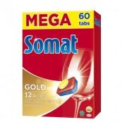 Таблетки для посудомоечных машин Somat «Gold» 60 шт.