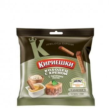 Сухарики Кириешки «Холодец с хреном + соус» 60гр.