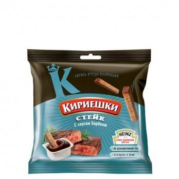Сухарики Кириешки «Стейк + соус» 60гр.