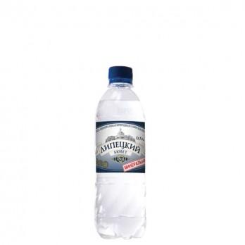 Вода минеральная Липецкий Бювет газированная 0,5л.