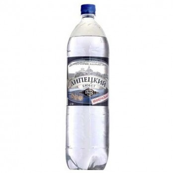Вода минеральная Липецкий Бювет газированная 1,5л.