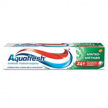 Зубная паста Aquafresh «Мягко-мятная» 100мл.