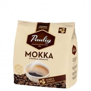 Кофе Paulig Мокка в зернах 500гр.