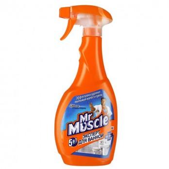 Чистящее средство Mr.Muscle для ванной 5в1 500мл.
