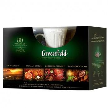 Подарочный набор чая Greenfield + кружка
